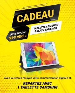 creation site internet tablette offerte